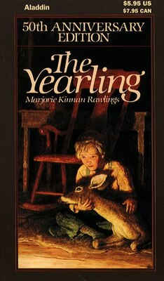 Book The Yearling by Marjorie Kinnan Rawlings