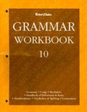 Book Writer'schoice: Grammar Workbook 10 by Glencoe