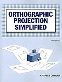 Book Orthographic Projection Simplified, Student Text by McGraw-Hill Education