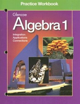 Book Algebra 1 Practice Workbook by Glencoe/mcgraw-hill
