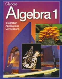 Book Algebra 1, Student Edition by McGraw-Hill Education
