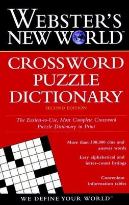 Book Webster's New World Crossword Puzzle Dictionary, Second Edition by Jane Shaw Whitfield