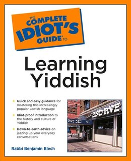 Book The Complete Idiot's Guide To Learning Yiddish by Benjamin Blech