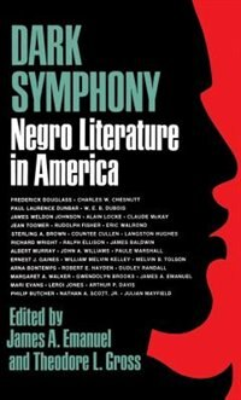 Book Dark Symphony by James A. Emanuel
