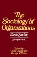 Book Sociology of Organizations by Oscar Grusky