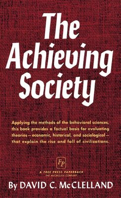 Book Achieving Society by David C. McClelland