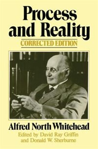 Book Process And Reality by Alfred North Whitehead