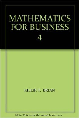 Book Math For Business: Cga Reference Handbook by Killip