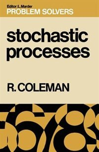 Book Stochastic Processes by Rodney Coleman