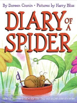 Book Diary of a Spider by Doreen Cronin