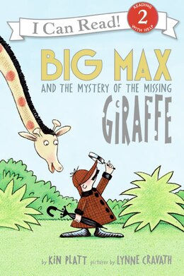 Book Big Max And The Mystery Of The Missing Giraffe by Kin Platt