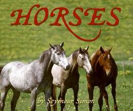 Book Horses by Seymour Simon