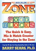 Book ZONE FOOD BLOCKS: The Quick And Easy, Mix-and-match Counter For Staying In The Zone by Barry Sears