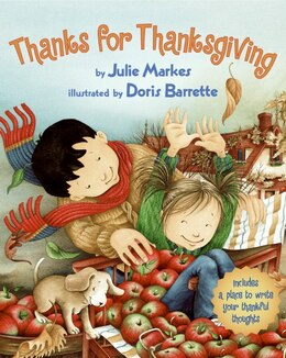 Book Thanks For Thanksgiving by Julie Markes
