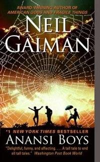Book Anansi Boys by Neil Gaiman