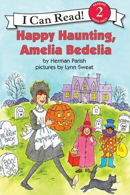Book Happy Haunting, Amelia Bedelia by Herman Parish