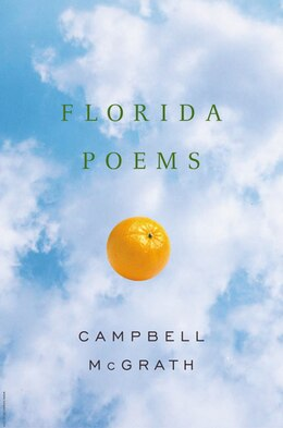 Book Florida Poems by Campbell McGrath
