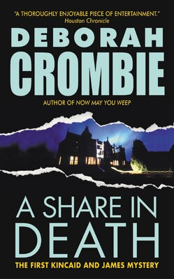 Book A Share In Death by Deborah Crombie