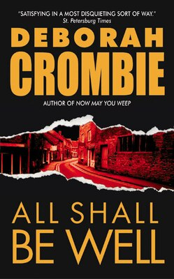 Book All Shall be Well by Deborah Crombie