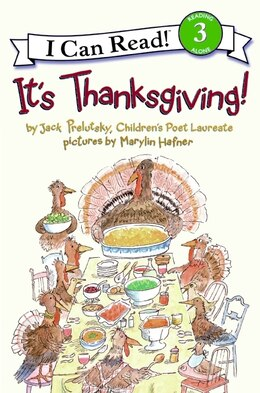 Book It's Thanksgiving! by Jack Prelutsky