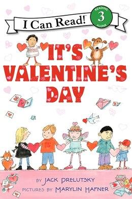 Book It's Valentine's Day by Jack Prelutsky