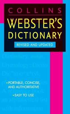 Book Collins Webster's Dictionary by HarperCollins Publishers