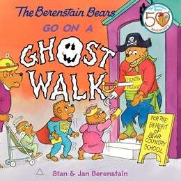 Book The Berenstain Bears Go On A Ghost Walk by Jan Berenstain