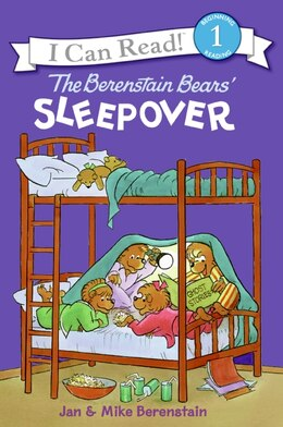 Book The Berenstain Bears' Sleepover by Jan Berenstain