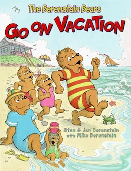 Book The Berenstain Bears Go on Vacation by Jan Berenstain