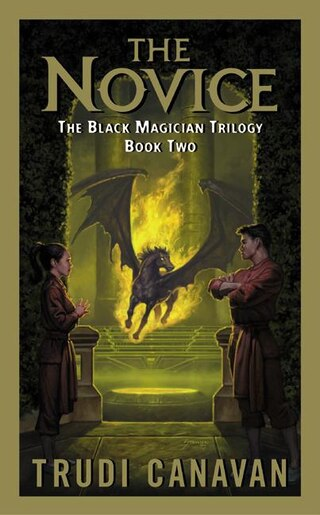 The Novice: The Black Magician Trilogy Book 2 by Trudi Canavan