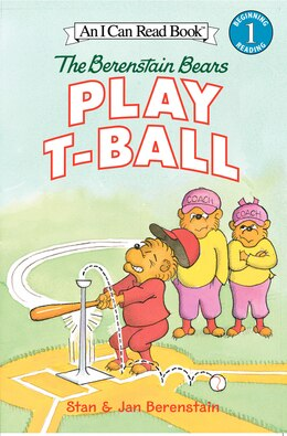 Book The Berenstain Bears Play T-ball by Jan Berenstain