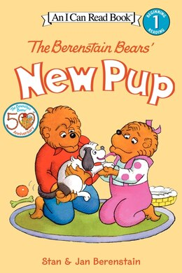 Book The Berenstain Bears' New Pup by Jan Berenstain