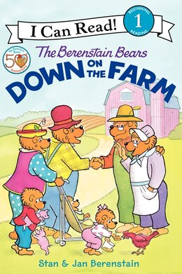 Book The Berenstain Bears Down On The Farm by Jan Berenstain