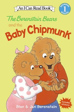 Book The Berenstain Bears and the Baby Chipmunk by Jan Berenstain