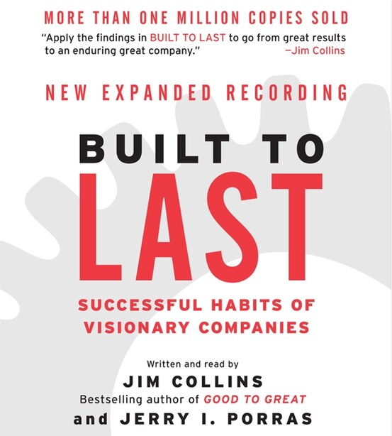 Built To Last Cd: Successful Habits Of Visionary Companies de Jim Collins