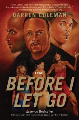 Book Before I Let Go: A Novel by Darren Coleman