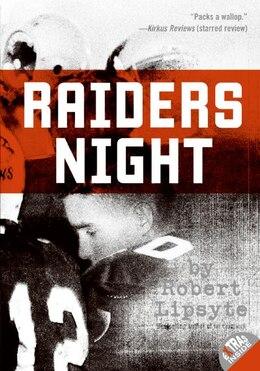 Book Raiders Night by Robert Lipsyte