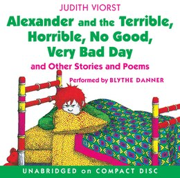 Book Alexander And The Terrible, Horrible, No Good, Very Bad Day Cd by Judith Viorst