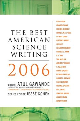 Book The Best American Science Writing 2006 by Atul Gawande