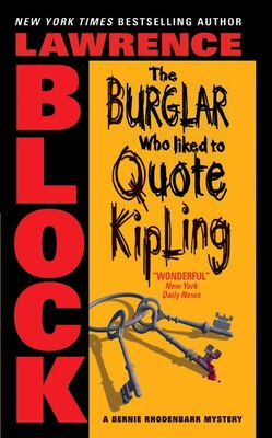 Book The Burglar Who Liked To Quote Kipling by Lawrence Block