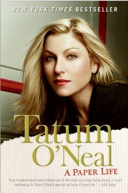 Book A Paper Life by Tatum O'neal
