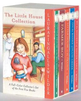 Book The Little House Collection Box Set (full Color): Full-Colour Box Set by Laura Ingalls Wilder