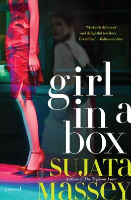 Book Girl in a Box by Sujata Massey