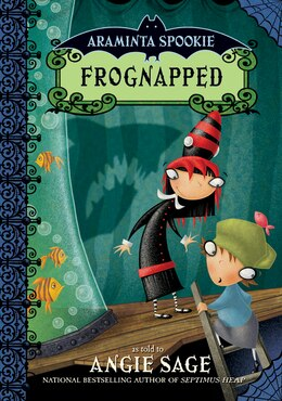 Book Araminta Spookie 3: Frognapped: Frognapped by Angie Sage