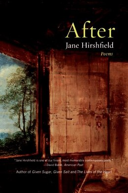Book After: Poems by Jane Hirshfield