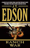 Book Ranch War by J. T. Edson