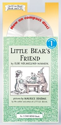 Book Little Bear's Friend Book And Cd by Else Holmelund Minarik