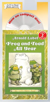 Book Frog And Toad All Year Book And Cd by Arnold Lobel