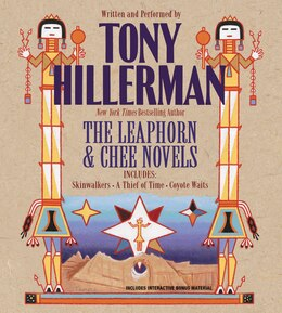 Book Tony Hillerman: The Leaphorn And Chee Audio Trilogy: Skinwalkers, A Thief of Time & Coyote Waits CD by Tony Hillerman