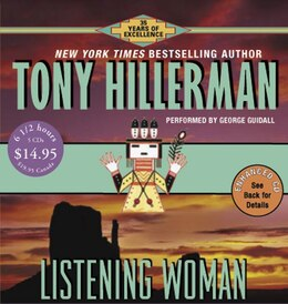 Book Listening Woman Cd Low Price by Tony Hillerman